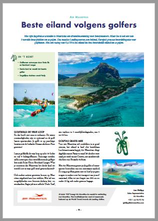 Air Mauritius_Tourism Golf Cup