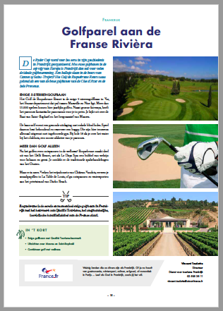 Frankrijk_Tourism Golf Cup