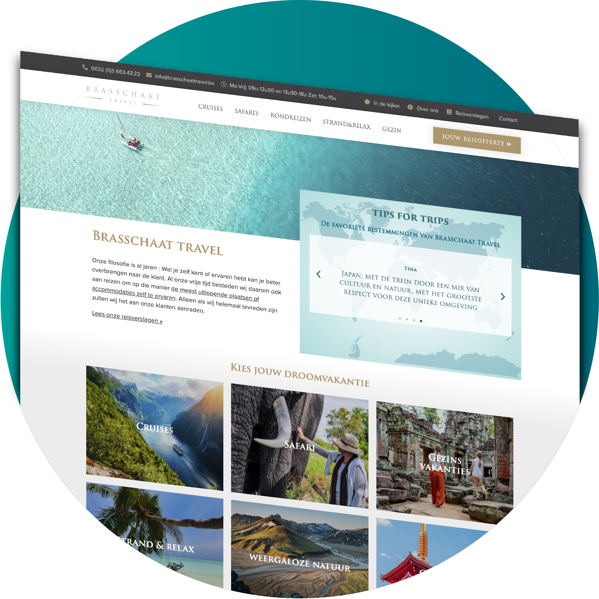 Website-Brasschaattravel